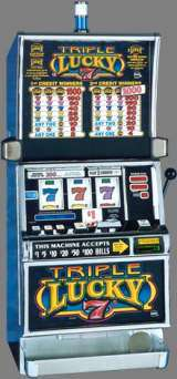Triple Lucky 7's [3-Reel, 1-Line] the  Slot Machine
