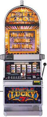 Triple Lucky 7's [Fort Knox] the  Slot Machine