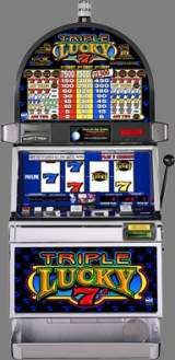 Triple Lucky 7's [4-Reel] the  Slot Machine