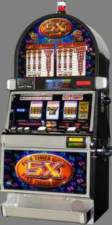 Five Times Gold the Slot Machine