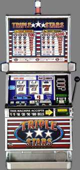 Triple Stars [3-Reel, 1-Line, 2-Coin] the  Slot Machine