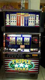 Triple Stars [3-Reel, 1-Line, 3-Coin] the  Slot Machine