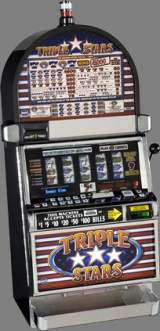 Triple Stars [5-Reel, 9-Payline] the  Slot Machine