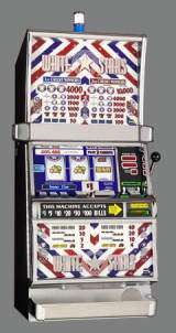 White Stars [1-Line, 2-Coin] the  Slot Machine