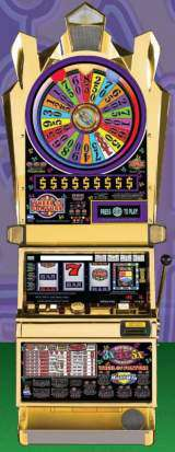 Double 3x4x5x Times Pay - Wheel of Fortune Multi-Win the Slot Machine