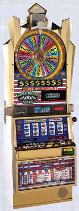 Wheel of Fortune - Triple Double Stars the  Slot Machine