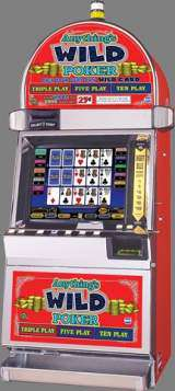 Anything's Wild Poker [Triple Play Five Play Ten Play] the Slot Machine