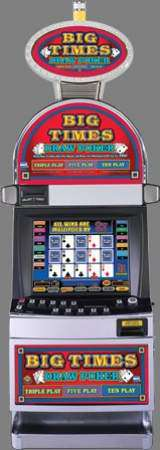 Big Times Draw Poker gambling/slot machine by IGT (2008)