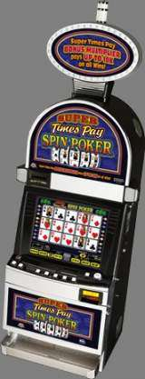 Super Times Pay Spin Poker the  Slot Machine