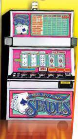 Reel Hot Poker Spades the  Slot Machine