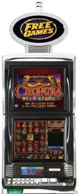 Cleopatra Wild-Tiles the Slot Machine