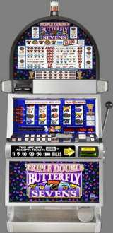 Triple Double Butterfly Sevens [5-Reel] the  Slot Machine