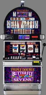 Triple Double Butterfly Sevens [3-Reel, 9-Line] Slot Machine