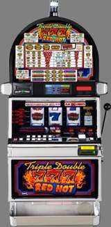 Triple Double Red Hot 7's [3-Reel] the  Slot Machine