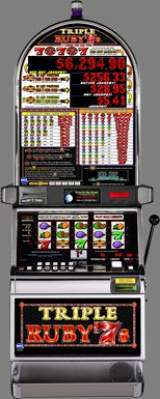 Triple Ruby 7's [Red Hot Jackpot] the  Slot Machine