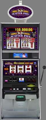 Triple Double Scatter Pays the  Slot Machine