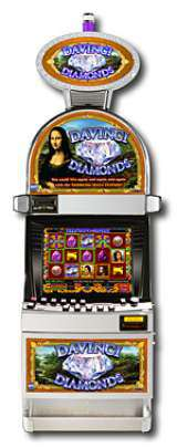 Da Vinci Diamonds the Slot Machine