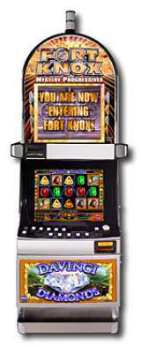 Da Vinci Diamonds [Fort Knox] the  Slot Machine