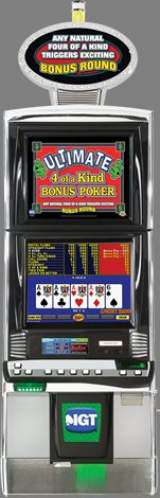 Ultimate 4 of a Kind Bonus Poker the  Slot Machine