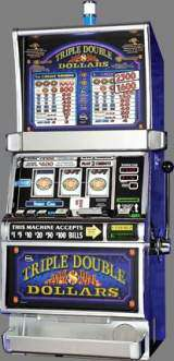 Triple Double Dollars [3-Reel, 2-Coin] the  Slot Machine