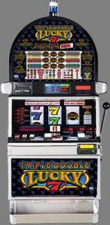 Triple Double Lucky 7's [3-Reel, 9-Line] the  Slot Machine