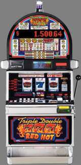 Triple Double Red Hot 7's [3-Reel] [Progressive] the  Slot Machine