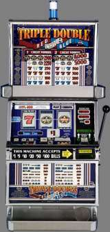 Triple Double Red White & Blue [1-Line] the  Slot Machine
