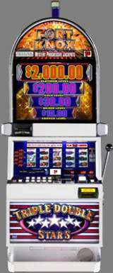 Triple Double Stars [Fort Knox] the Slot Machine