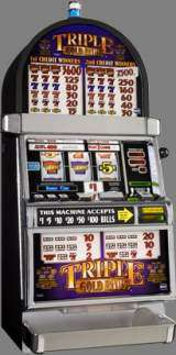 Triple Gold Bars the  Slot Machine