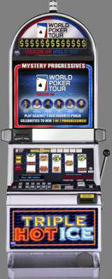 Triple Hot Ice [World Poker Tour] the  Slot Machine