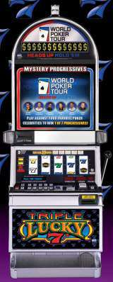 Triple Lucky 7's [World Poker Tour] the Slot Machine