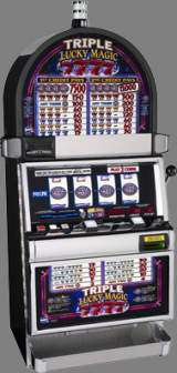 Triple Lucky Magic 7's the  Slot Machine