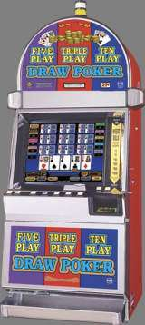 Five Play Triple Play Ten Play Draw Poker the  Slot Machine