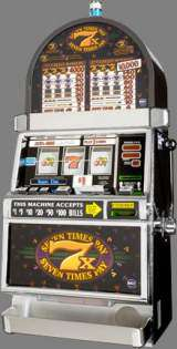 Seven Times Pay [3-Reel, 2-Coin] the  Slot Machine