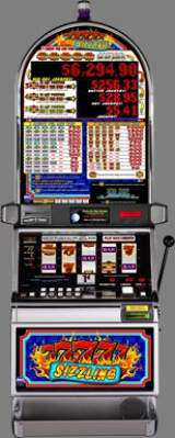 Sizzling 7's [Red Hot Jackpot] the  Slot Machine