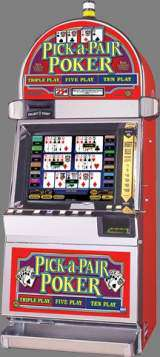Pick-a-Pair Poker [Triple Play, Five Play, Ten Play] the Slot Machine