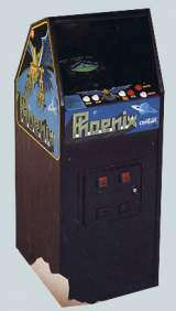 Phoenix [Upright model] the Arcade Video game