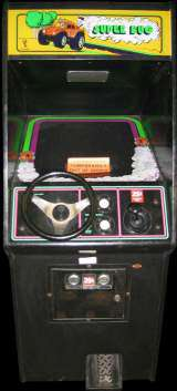 Super Bug the  Arcade Video Game