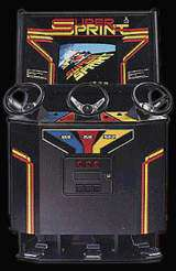 Super Sprint Arcade Video Game