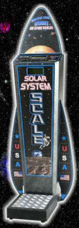 Solar System Scale the  Scale