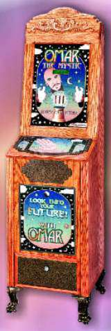 Look Into Your Future with Omar the Mystic [Classic model] the Coin-op Fortune Teller