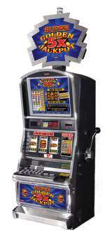 Super Golden 5x Jackpot the  Slot Machine