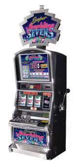 Super Sparkling Sevens the  Slot Machine
