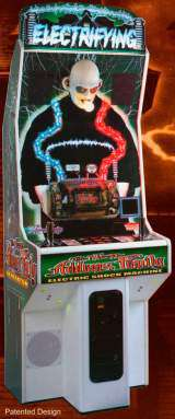 The New Addams Family Electric Shock Machine Coin Op