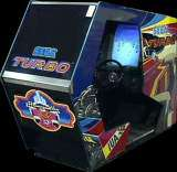 Turbo [Sit-Down model] the Arcade Video game
