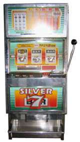 Silver 7 [Model W3113] the  Slot Machine