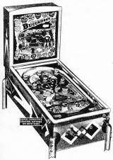 Buccaneer [Model 11] the  Pinball