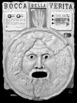 Bocca della Verita [Mini model] the  Fortune Teller