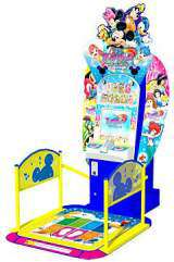 Disney Magical Dance on Dream Stage the  Sega NAOMI Cart.