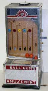 Ball Gum Amusement the Coin-op Trade Stimulator